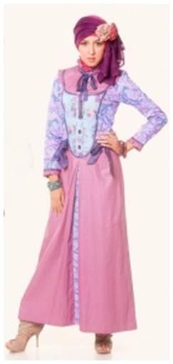Model Baju Batik Muslim Update Terbaru