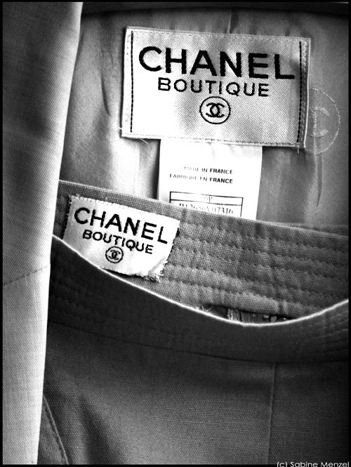 Psynopsis Vintage Chanel Labels