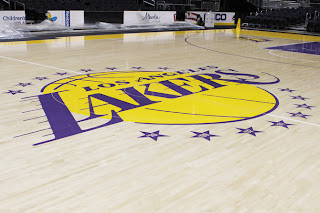 NBA 2K13 Lakers Court with 16 Stars Championships