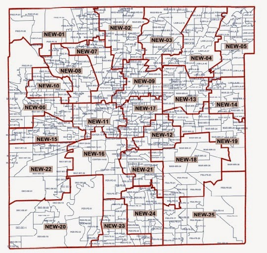 Ogden On Politics Review Of Indianapolis Council Map