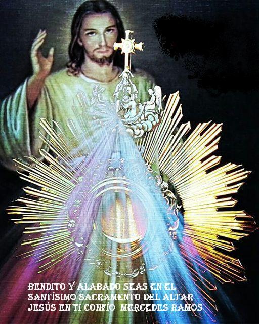 DICE JESÚS EL ALMA MAS FELIZ ES LA QUE CONFIA EN MI MISERICORDIA