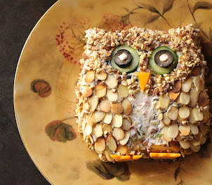 Owl Cheese Ball
