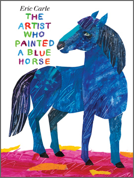 Eric Carle, Friemds, The Artist Who Painted A Blue Horse, children's books, Huffington Post