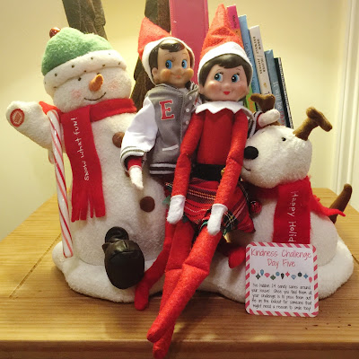 Elf on the Shelf Kindness Challenge - Light 'em Up!