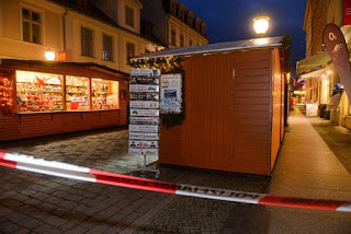 Explosive device filled with hundreds of nails close to Christmas market could be 'one of many'