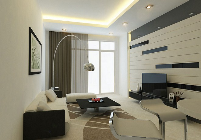 Modern Living Room Design Ideas for Urban Lifestyle Home - HAG Design