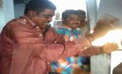 Police drunken dances in Aleeru police station
