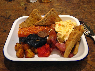 The Boss Breakfast from Boston tea Party, Gloucester Road Bristol