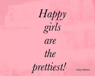 happy girly quote