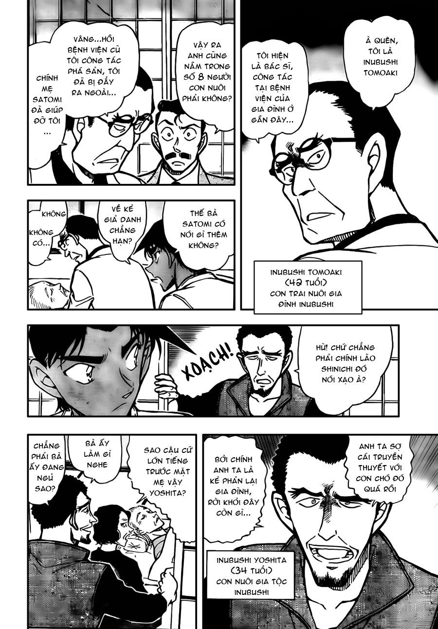 Detective Conan - Thám Tử Lừng Danh Conan chap 736 page 10 - IZTruyenTranh.com