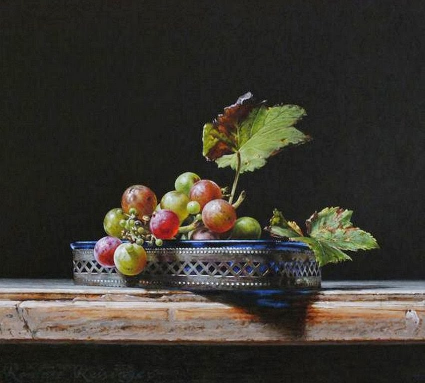 pinturas-de-bodegones-con-vasijas-y-frutas