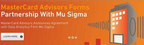 Partenariat MasterCard - Mu Sigma
