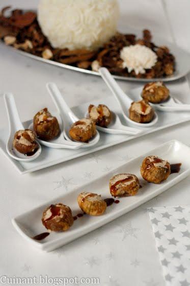 Cuinant higos secos rellenos de foie for Tapas faciles y buenas