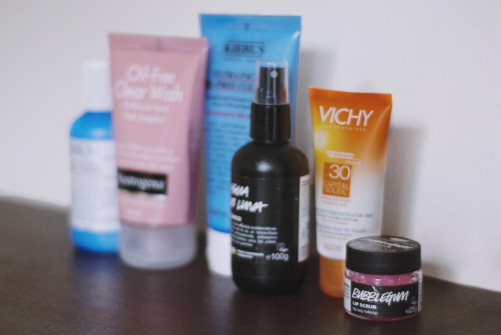 Rutina limpieza facial día