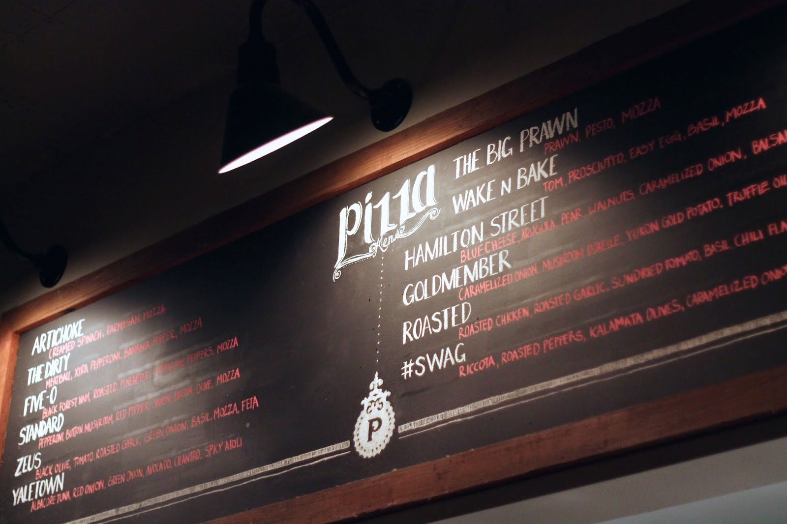The parlour pizza shop in Vancouver
