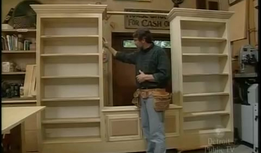 Como hacer un librero moderno de madera h galo usted - Libreros de madera modernos ...