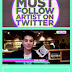 2011-10-31 MTV O Awards-Must Follow Artist on Twitter