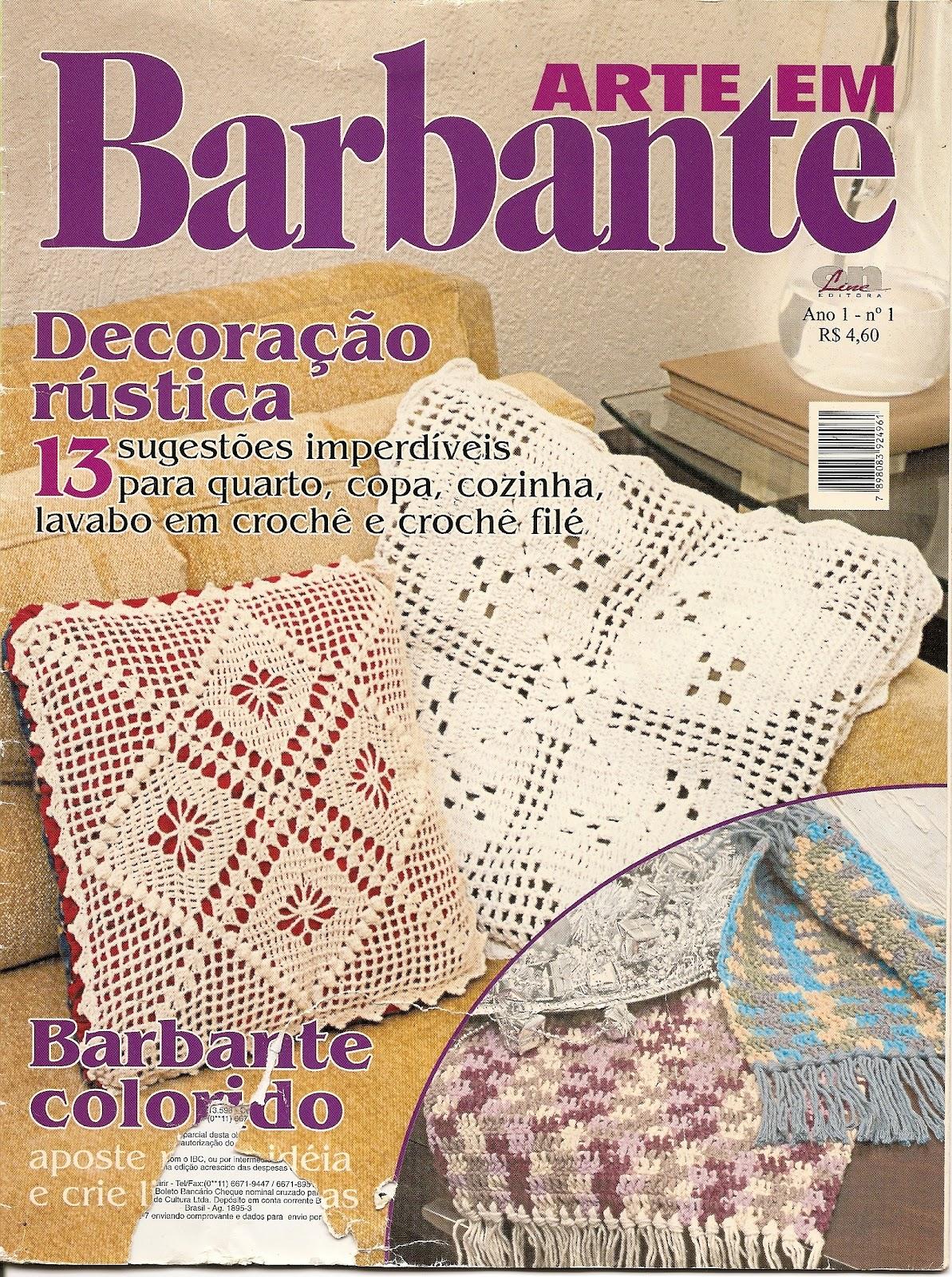 Arte Em Tapete De Barbante : Jussara tapetes: Revista – Arte em barbante n? 01