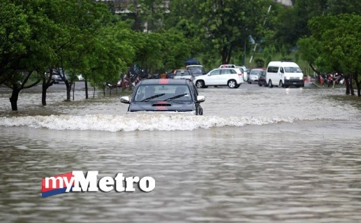 Hujan lebat selama 2 jam sebabkan banjir