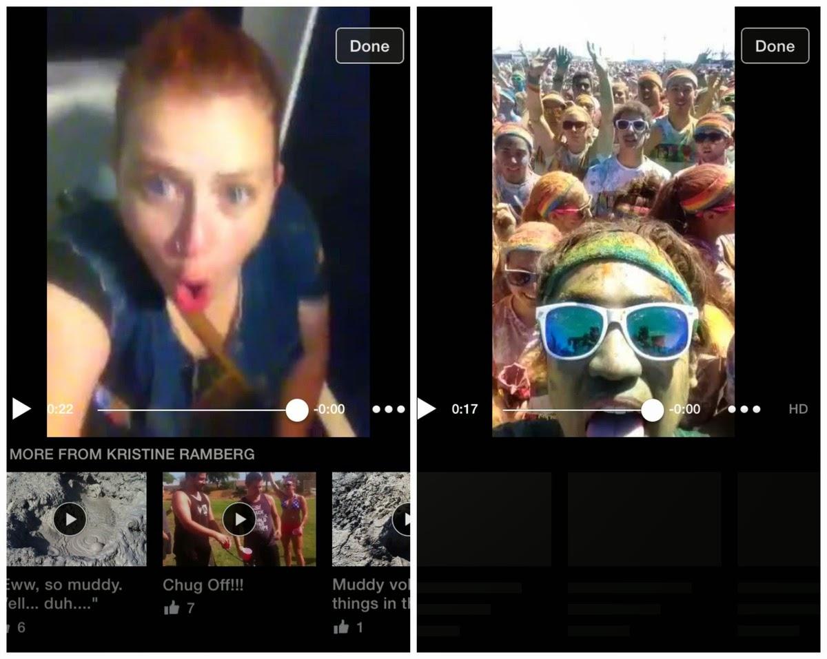 Facebook y los videos relacionados