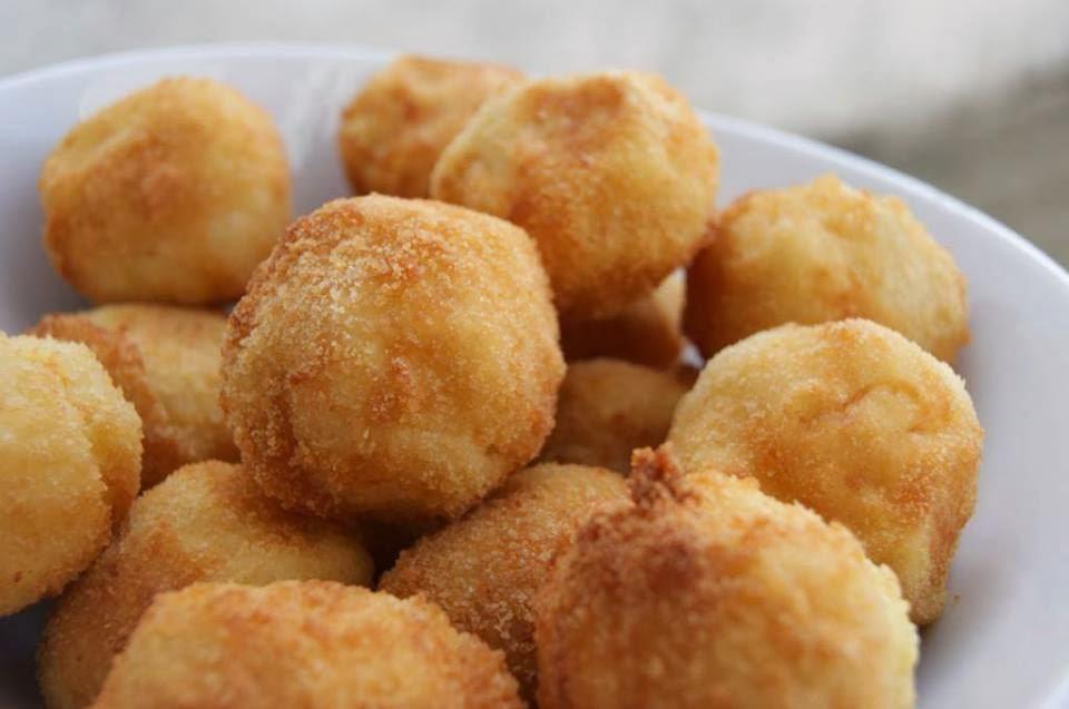 Croquettes de pommes de terre au fromage