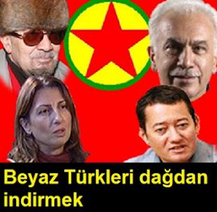 Beyaz Türkleri dağdan indirmek