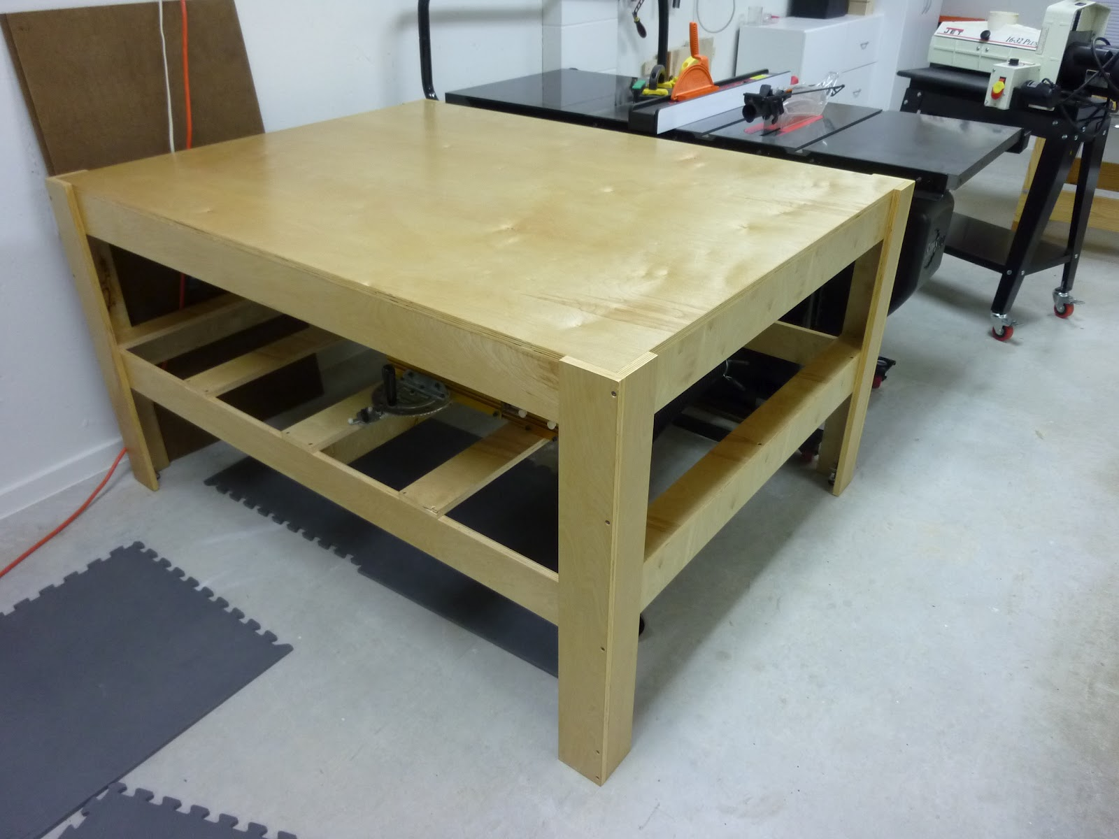 Elegant Then, He Sawed A Hole In The Middle Of The Top Of The Table, Cut A Hole Out Of An Old Tablecloth  A Month Later, The Two Of Them Opened A Woodworking Business All Was Right With The World However, Like We Know, Life Is Unpredictable