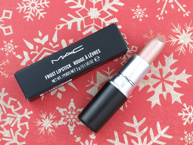 """MAC Mariah Carey Frost Lipstick in """"All I Want"""": Review and Swatches"""