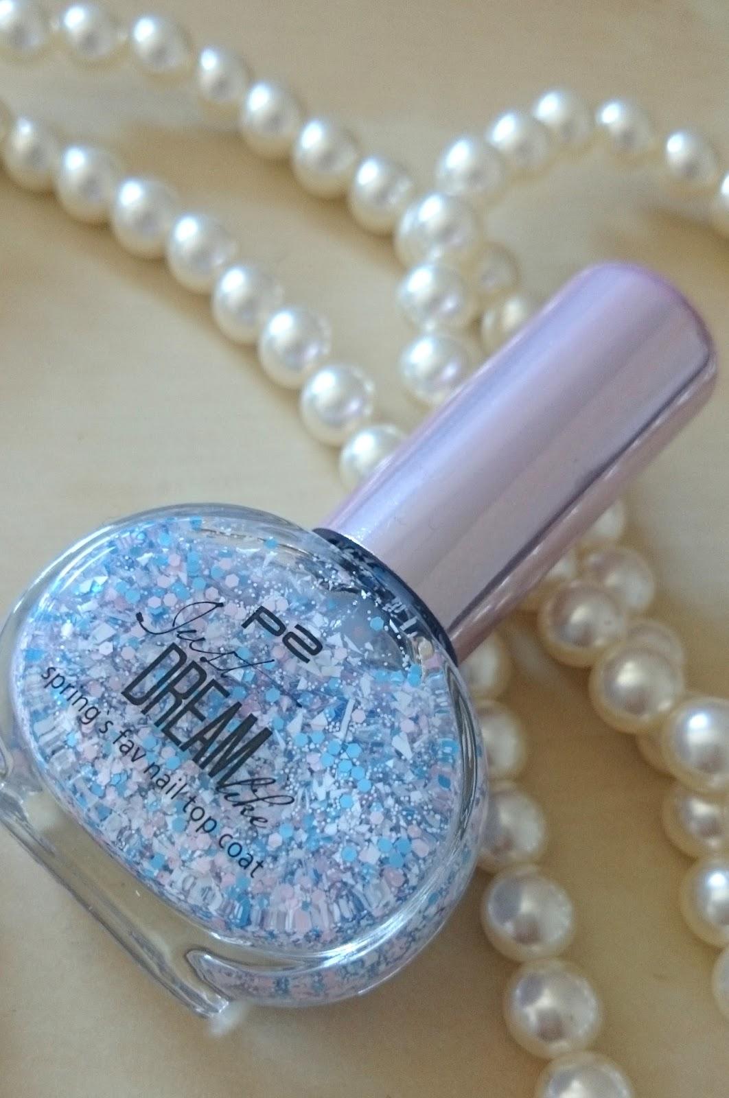 p2 Just Dream like spring´s fav nail top coat 041 lilac joy dots