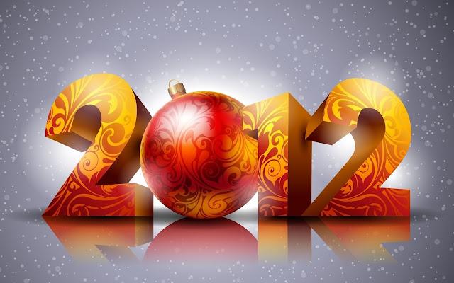 Wallpaper del Año Nuevo 2012 (1920x1200px)