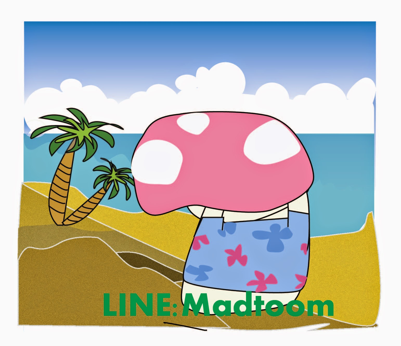 Get line stickers Madtoom