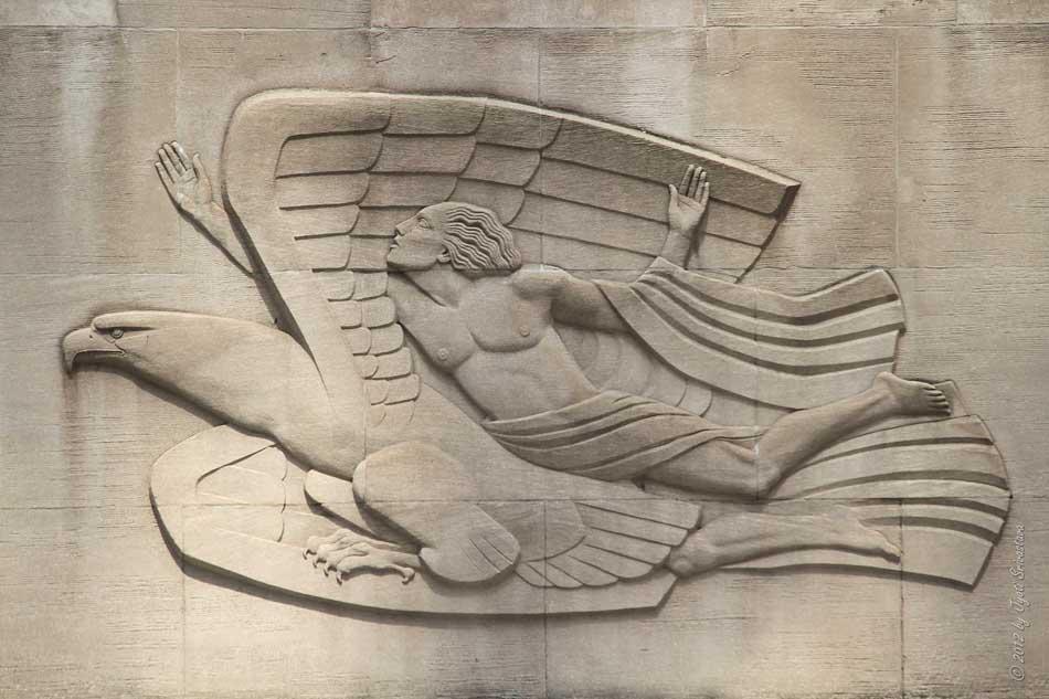 Public Art in Chicago: New York: Rockefeller Center [Morning ...