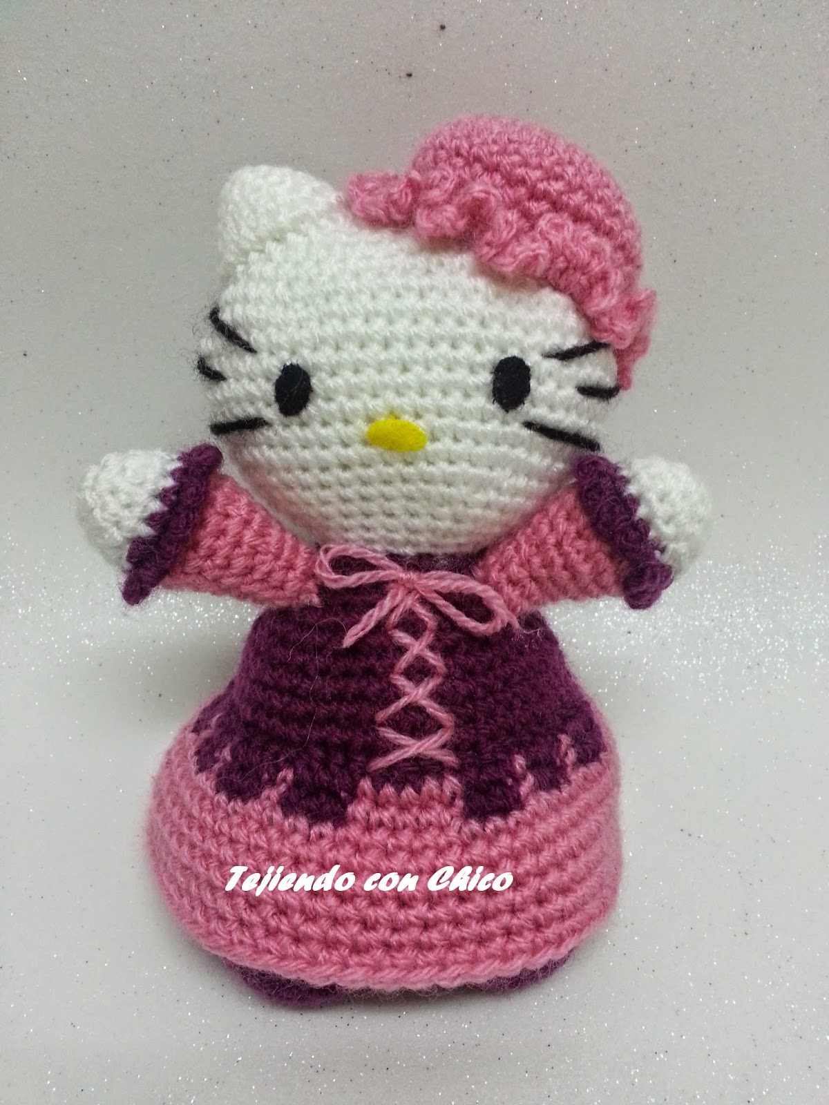 Tutorial Amigurumi Kitty : Tejiendo con Chico: Hello Kitty 16
