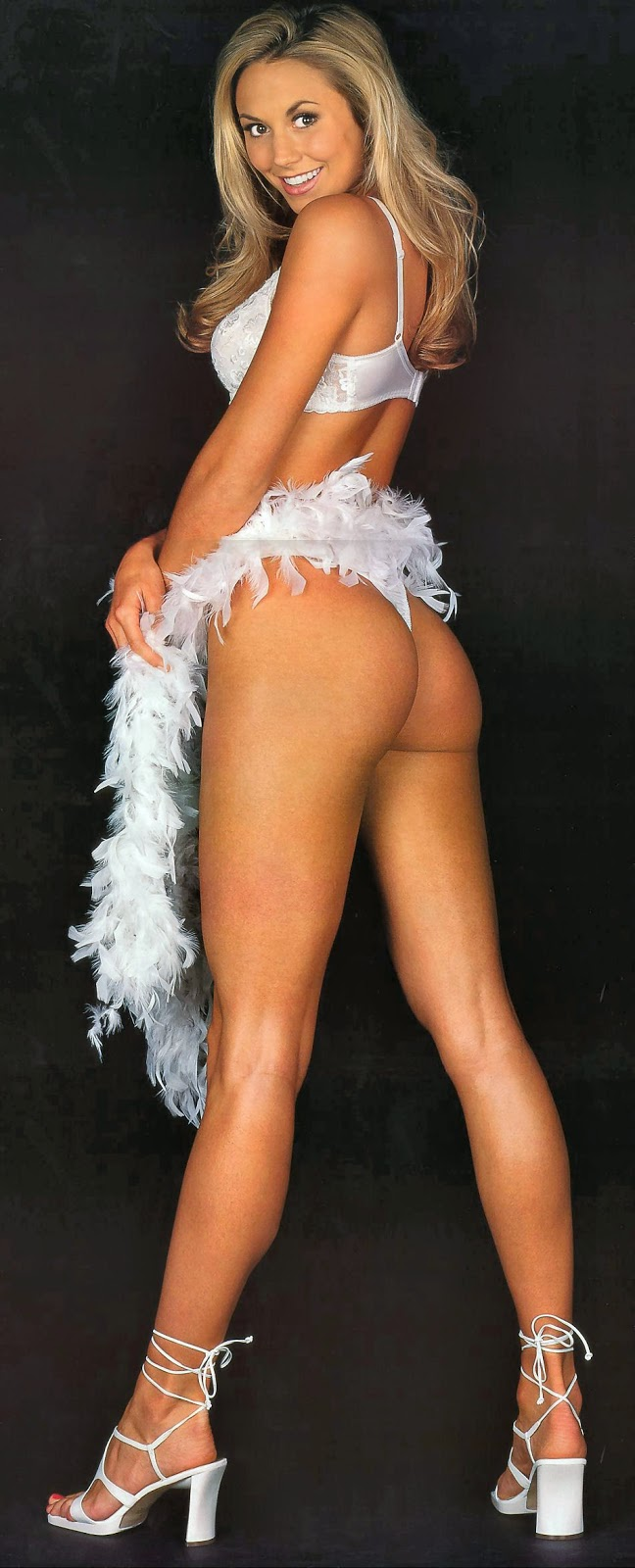 long sexy legs and ass of Stacy Keibler