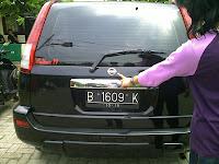 Pengambilan Mobil Nissan XTrail B 1609 K Jakarta Ke Makasar