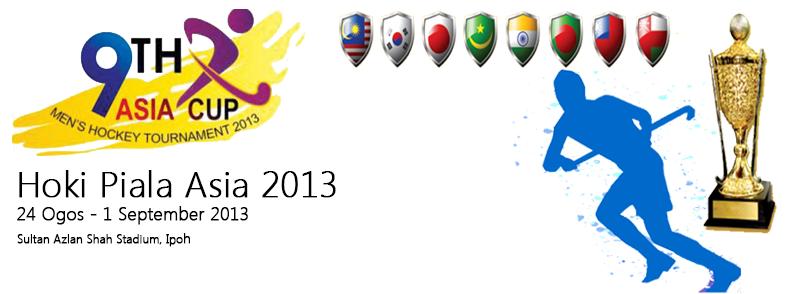 Hoki Piala Asia 2013   Jadual & Keputusan