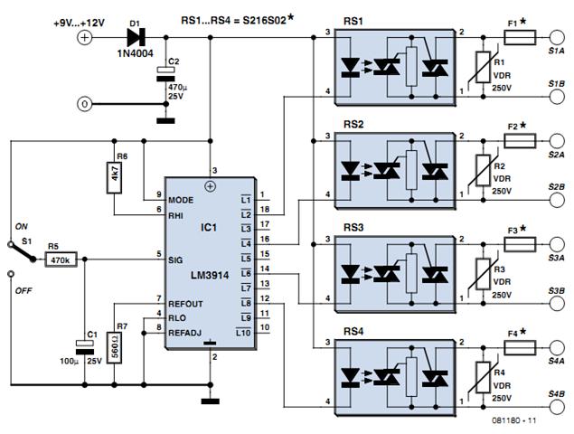 Sequencer Circuit Diagram