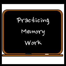 http://www.halfahundredacrewood.com/2012/07/practicing-memory-work.html