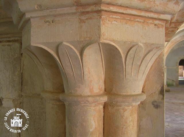 MONTBARD (21) - Salle capitualire de l'abbaye de Fontenay