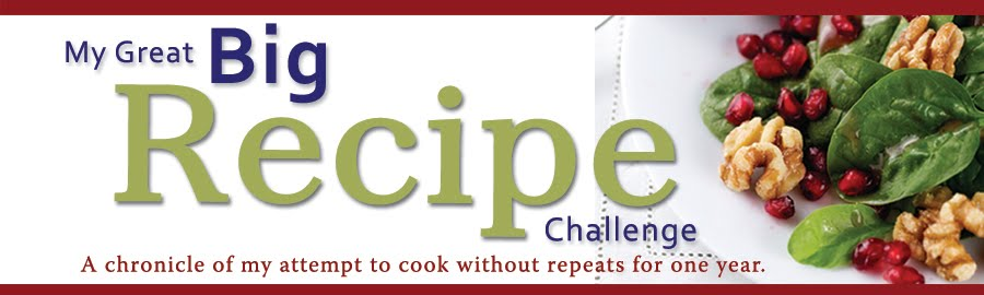 My Great Big Recipe Challenge