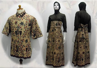 PO L MODEL BAJU BATIK WANITA MODERN