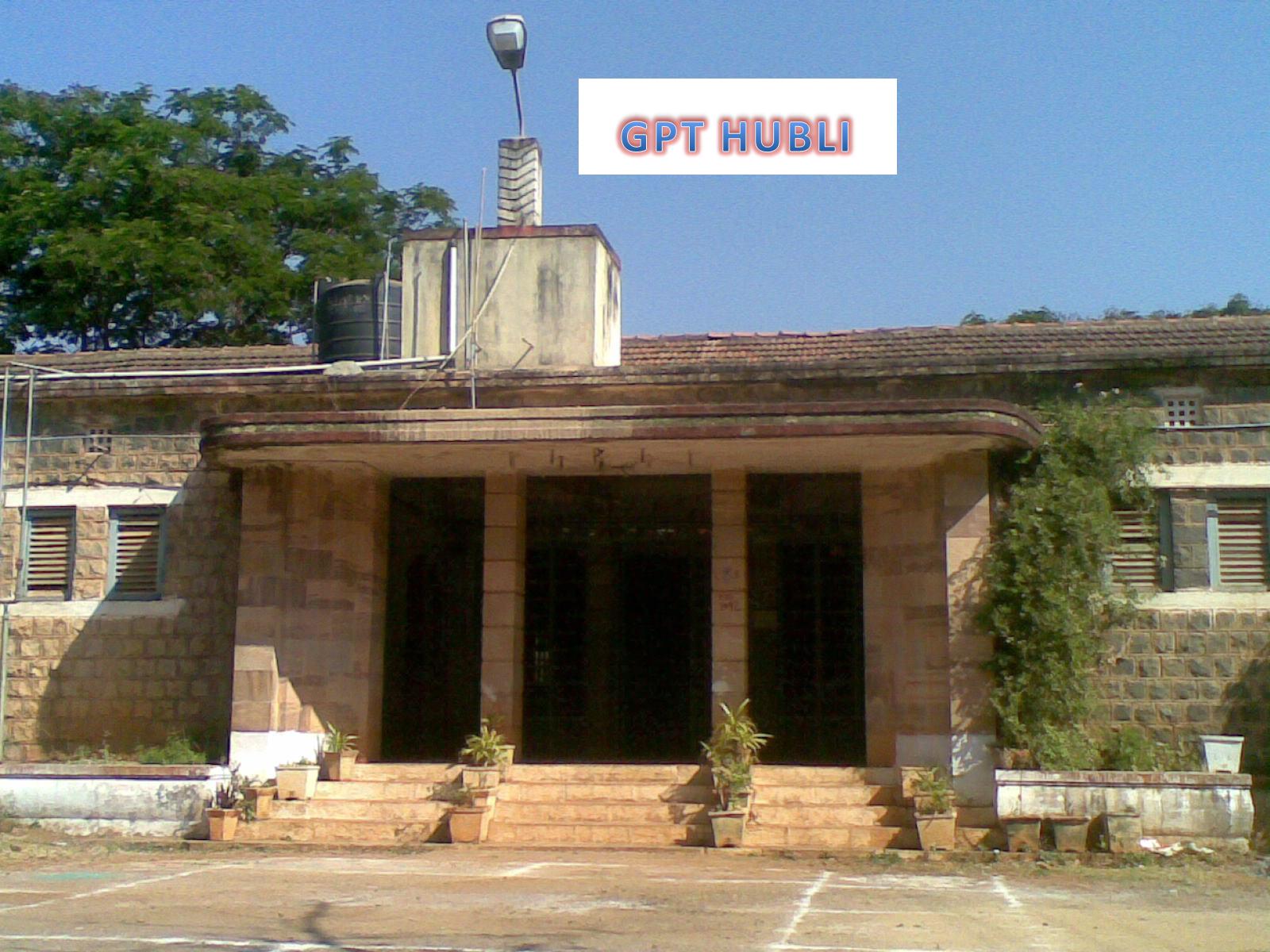 Study Engineering Govt Polytechnic Vidyanagar Hubli 580021