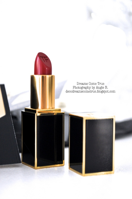 dreams come true tom ford lippenstift und neues profilbild. Black Bedroom Furniture Sets. Home Design Ideas