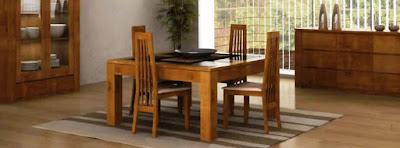 salle à manger en bois