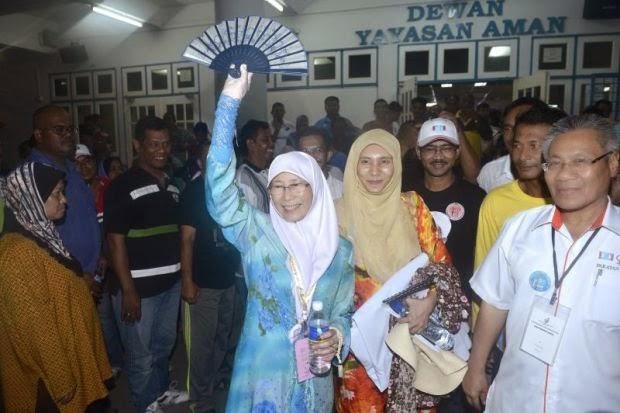 Punca Datuk Seri Dr Wan Azizah Wan Kembali Ke Permatang Pauh Dengan Undi Majoriti 8 841 undi Terjawap