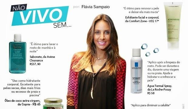 Flávia Sampaio é estilosa, dona de um corpo sequinho e mulher do empresário Eike Batista.