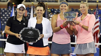 Andrea Hlavackova-Loucie Hradecka wins US Open 2013 Women Doubles Title