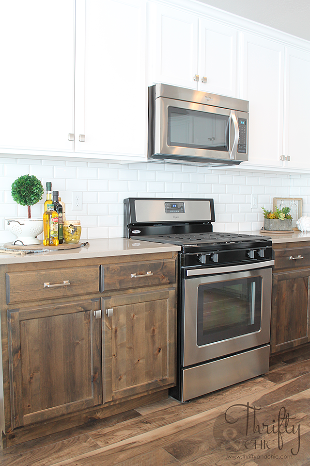 Kitchen decorating idea and model home tour