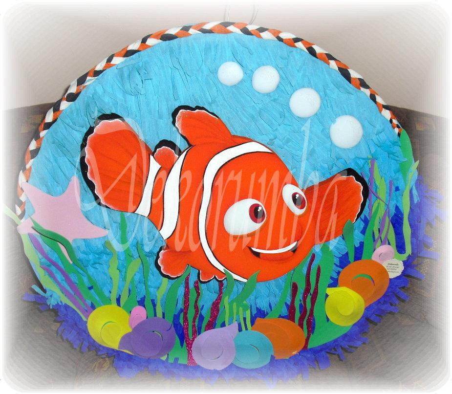 Dekorumba: Piñatas Ovaladas de Buscando a Nemo