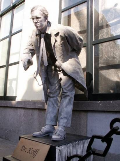 Realistic Living Statue